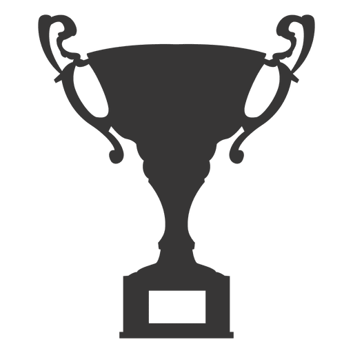 Award trophy silhouette Transparent PNG