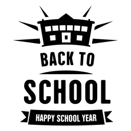Back to school label 2