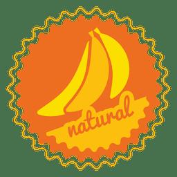 Insignia del círculo natural del plátano.