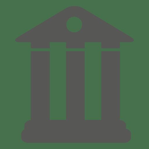 Símbolo del edificio del banco Transparent PNG