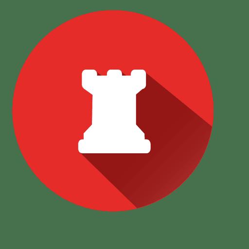 Icono de círculo de banco