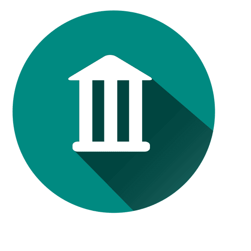 Icono de círculo de banco 3 Transparent PNG