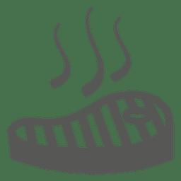 Icono de estufa de parrilla de barbacoa