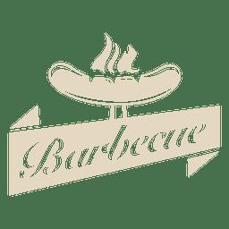 Logo de barbacoa