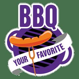 Logotipo de la barbacoa 1