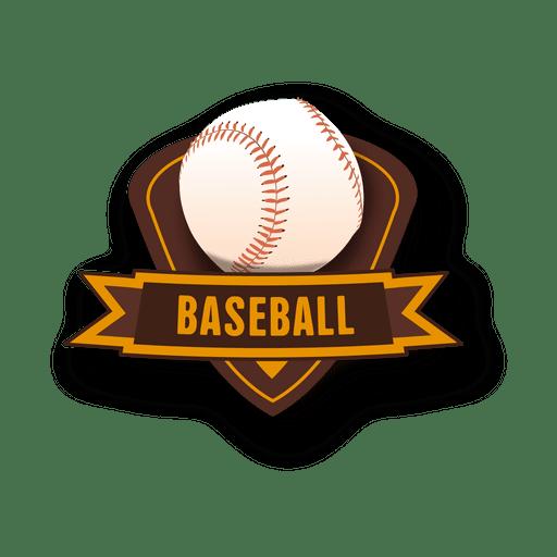 Insignia de beisbol Transparent PNG
