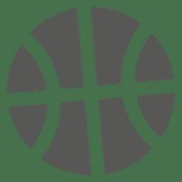Icono frontal de baloncesto