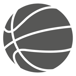 Ícone da silhueta do basquetebol