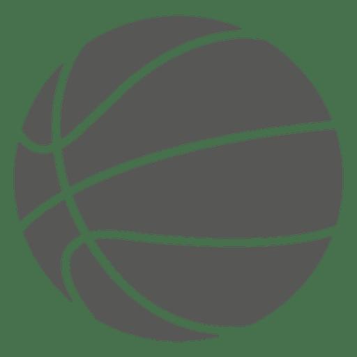 Icono de silueta de baloncesto