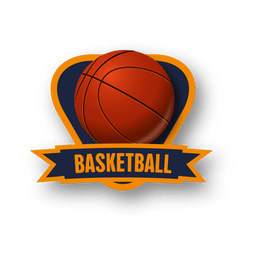 logotipo do basquetebol