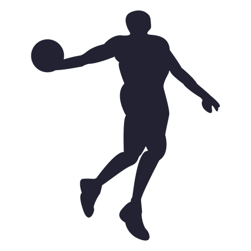 basketball player silhouette 1 png