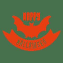 insignia del palo de Halloween