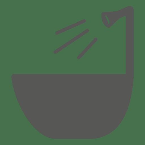 Bath tub icon Transparent PNG