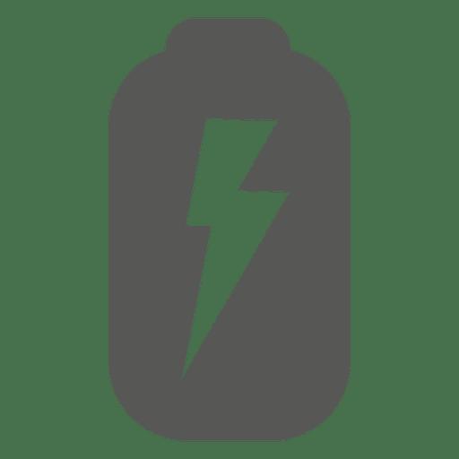 Icono de batería descargada