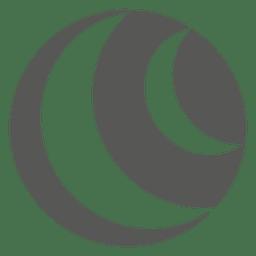 Ícone da esfera de praia