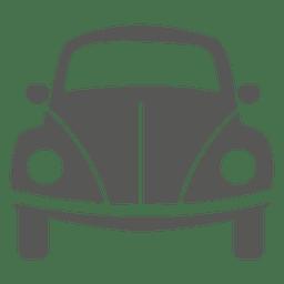 Icono del frente del coche del escarabajo