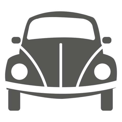 Beetle car front icon Transparent PNG