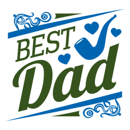 Melhor emblema pai
