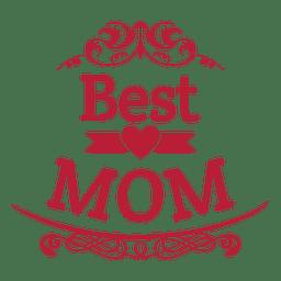 Melhor emblema mãe 5