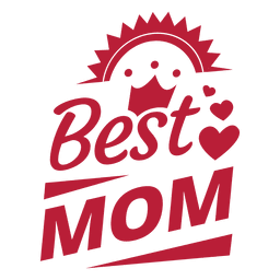Mejor etiqueta de mamá 4
