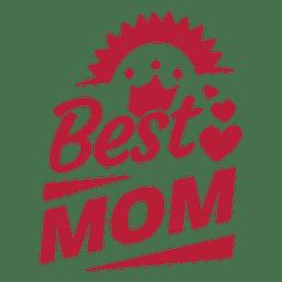 Melhor mãe rotular 4