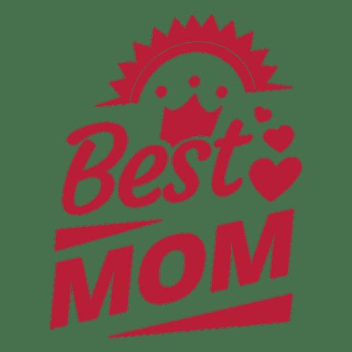 Best mom label 4 Transparent PNG