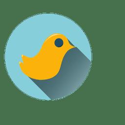 Vogel-Kreis-Symbol