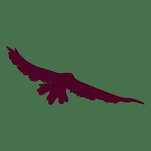 Fliegende vogel sequenz silhouette Transparent PNG