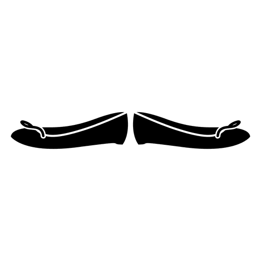 Schwarzer Mädchenschuh Transparent PNG