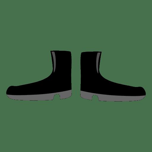 Black ladies boot Transparent PNG