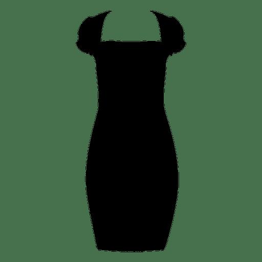 Schwarzes Damenkleid Transparent PNG