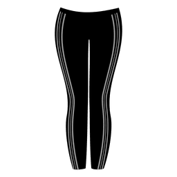 Black ladies pant