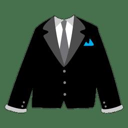 Schwarzer Herrenblazer