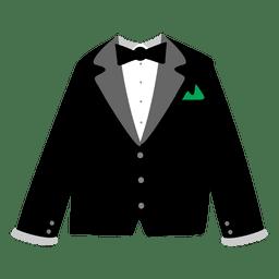 Vestido de fiesta de los hombres negros