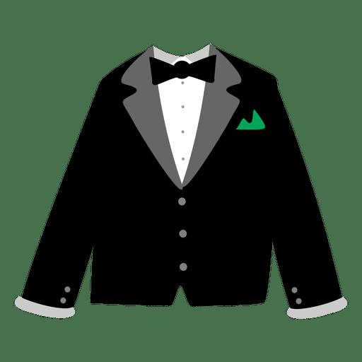 Vestido de festa dos homens negros Transparent PNG