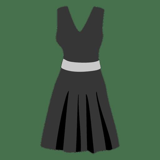 Paño de mujer negro Transparent PNG