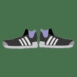 Schwarze Damen Sneakers