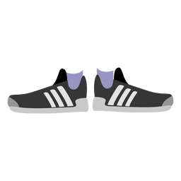 zapatillas de deporte de las mujeres negras