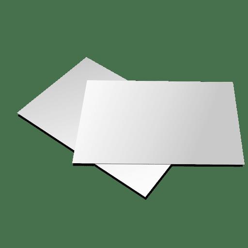 Blank brochure paper