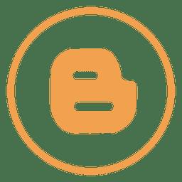 Blogger ring icon