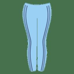 Senhoras azuis calça