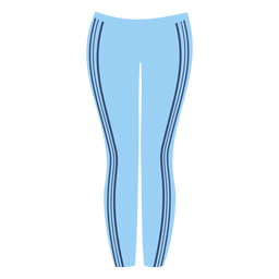senhoras azuis pant