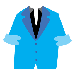 Chaqueta de hombre azul