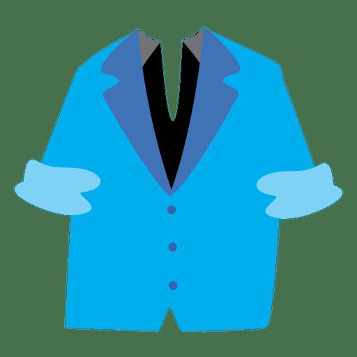 Blazer dos homens azuis Transparent PNG