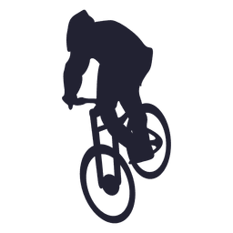Bmx silhueta bicicleta 1