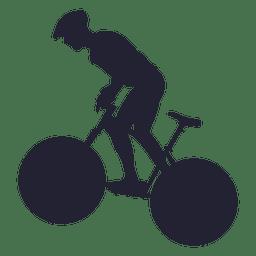 Bmx sport silhouette 1