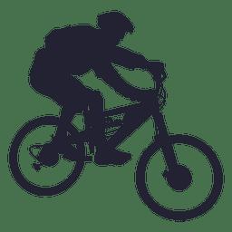 Bmx sport silhouette 2