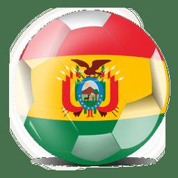 Bolivia flag ball