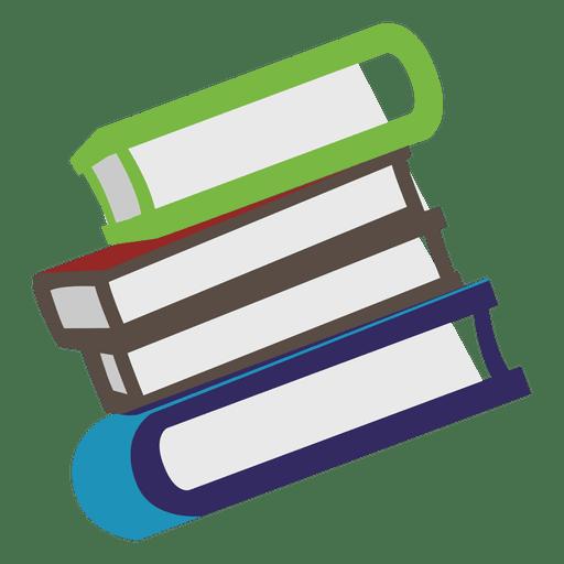 Ícone lateral de livros Transparent PNG