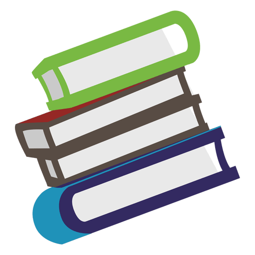 Books side icon Transparent PNG
